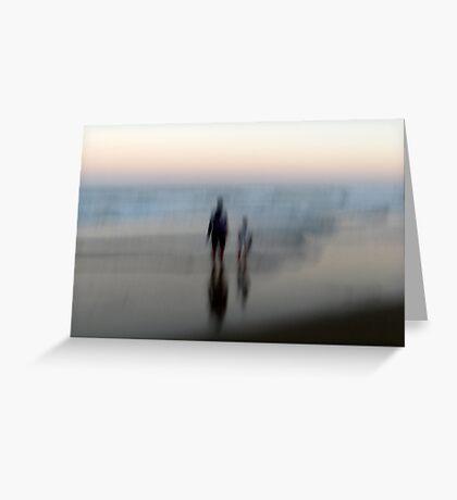 You, Me, the Sea Greeting Card