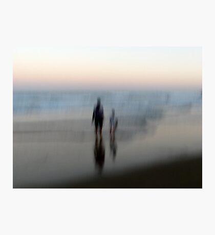 You, Me, the Sea Photographic Print