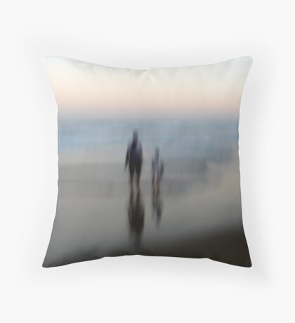You, Me, the Sea Throw Pillow