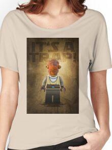 Admiral Akbar -  It's a Trap! - Star wars lego digital art.  Women's Relaxed Fit T-Shirt