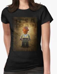 Admiral Akbar -  It's a Trap! - Star wars lego digital art.  Womens Fitted T-Shirt