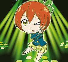 Love Live! - Rin Hoshizora (chibi edit) by alphavirginis