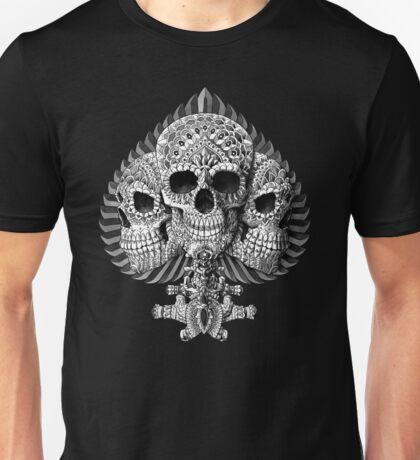 Skull Spade Unisex T-Shirt