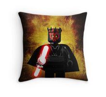 Darth Maul - Star wars lego digital art.  Throw Pillow
