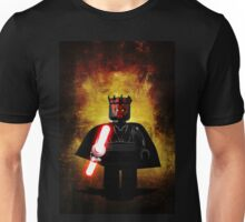 Darth Maul - Star wars lego digital art.  Unisex T-Shirt