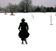 Antique Snowfall by L Hartley