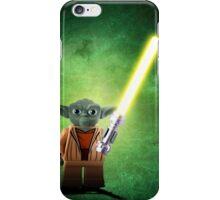 Yoda - Star wars lego digital art.  iPhone Case/Skin