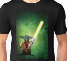 Yoda - Star wars lego digital art.  Unisex T-Shirt