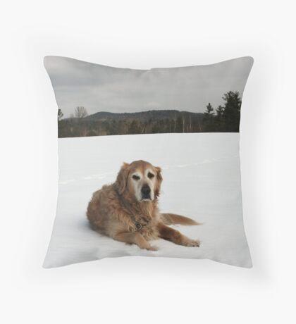 CJ 2 Throw Pillow