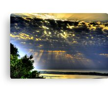 """ It was a beautiful morning "" Canvas Print"