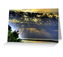 """"""" It was a beautiful morning """" Greeting Card"""