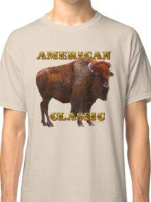 American Classic Buffalo by ©Fractal Tees Classic T-Shirt