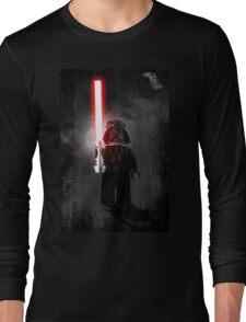 Darth Vader - Star wars lego digital art.  Long Sleeve T-Shirt
