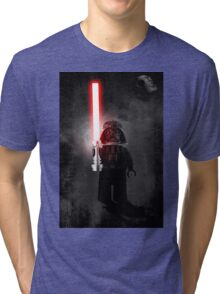 Darth Vader - Star wars lego digital art.  Tri-blend T-Shirt