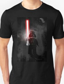 Darth Vader - Star wars lego digital art.  Unisex T-Shirt