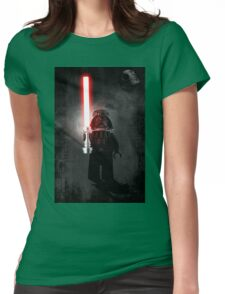 Darth Vader - Star wars lego digital art.  Womens Fitted T-Shirt