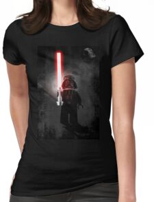 Darth Vader - Star wars lego digital art.  Womens Fitted T-Shirt