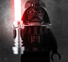 Darth Vader - Star wars lego digital art.  Sticker