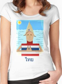 The Thai Women's Fitted Scoop T-Shirt