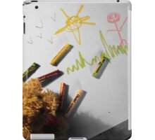 Childish drawing iPad Case/Skin