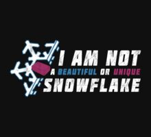 A beautiful and unique snowflake. by rasabi