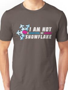 A beautiful and unique snowflake. Unisex T-Shirt