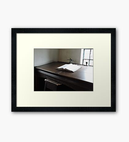 The Ledger Framed Print