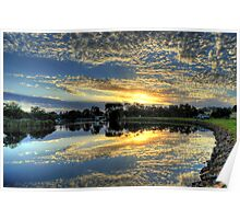 """ Sunrise on the Brodribb River Marlo Vic "" Poster"