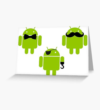 Androids Greeting Card