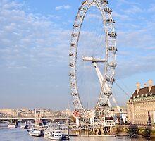 London Eye by ANDREW BARKE