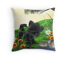 My Wolfie Throw Pillow