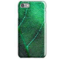 Leaf (contrast) iPhone Case/Skin