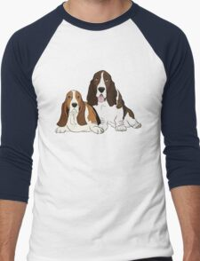 Two Bassets  T-Shirt