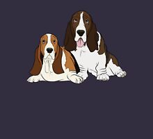 Two Bassets  Unisex T-Shirt