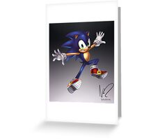Sonic Greeting Card