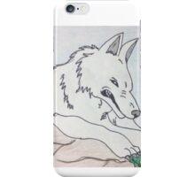 Moro The Wolf Giant Goddess  iPhone Case/Skin