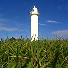 Yamba Lighthouse by Yvette Bell