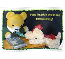 First day at school 3 Poster