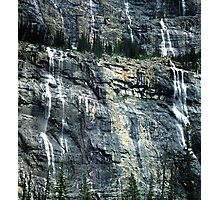 The Weeping Wall Photographic Print