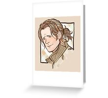 Headband Sam Greeting Card
