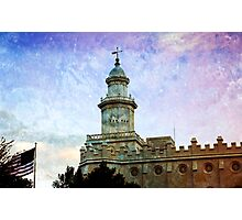 St. George LDS Temple Photographic Print