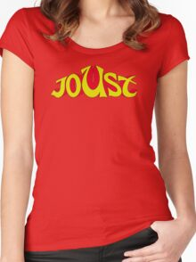 Joust Arcade Women's Fitted Scoop T-Shirt