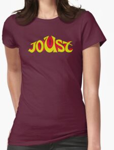 Joust Arcade Womens Fitted T-Shirt