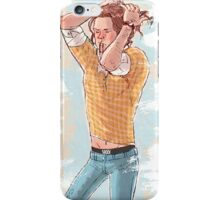 Sam Doing his hair iPhone Case/Skin