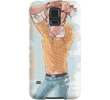 Sam Doing his hair Samsung Galaxy Case/Skin