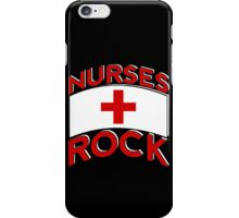 Nurses Rock iPhone Case/Skin