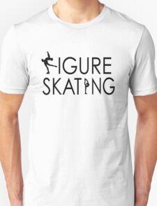 Figure Skating Unisex T-Shirt
