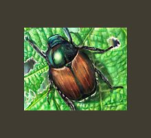 Japanese Beetle on Leaf Unisex T-Shirt