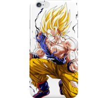 Dbz Sangoku Super Sayan iPhone Case/Skin