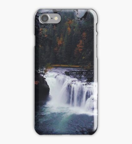 Lower Lewis River Falls iPhone Case/Skin